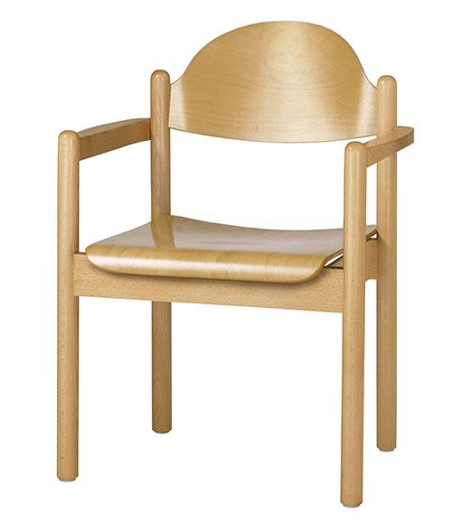 kirchenausstattung online kaufen roki kirchen online shop gemeindestuhl arca 148a 00 mit. Black Bedroom Furniture Sets. Home Design Ideas
